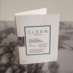 Clean Reserve Rain Pluie